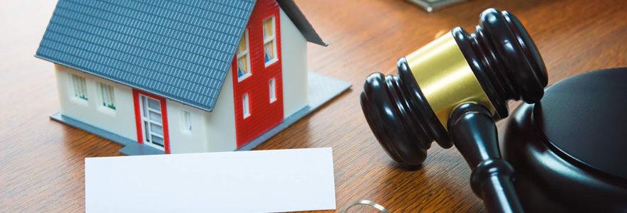 Enchères immobilières de biens saisis